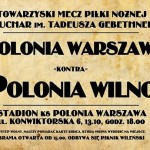 Polonia Wilno w Warszawie